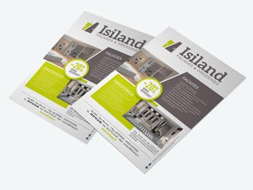 Isiland - Flyer